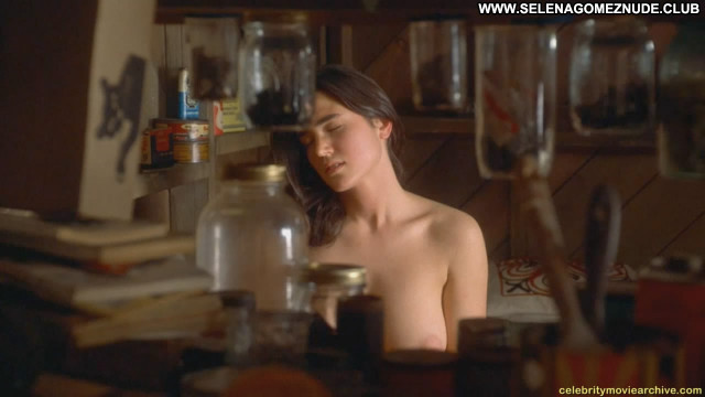 Jennifer Connelly Inventing The Abbotts Garage Nude Scene Posing Hot