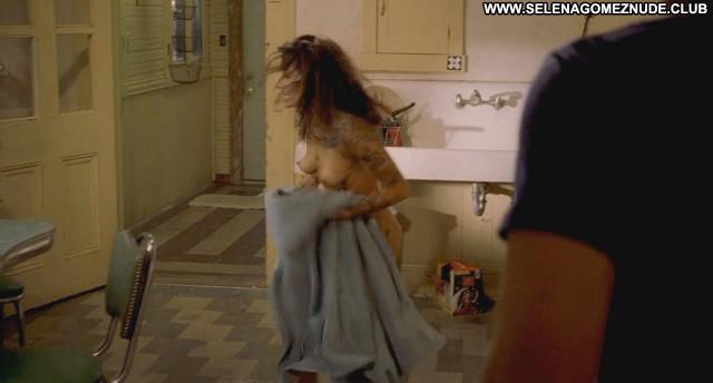 Sarah Shahi Bullet To The Head Nude Scene Babe Breasts Kitchen