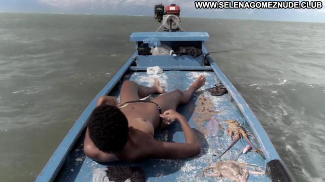 Dandara De Morais Ventos De Agosto Nude Scene Breasts Bush Ocean Boat