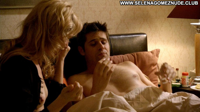 Lisa Mccune Rake Celebrity Sex Breasts Big Tits Babe Bed Posing Hot
