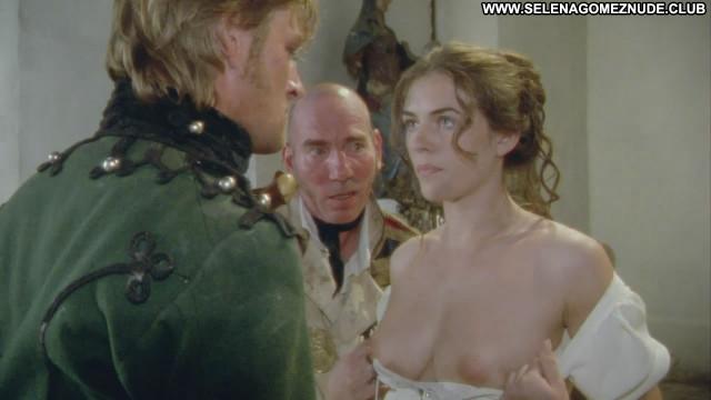 Elizabeth Hurley Sharpes Enemy Breasts Beautiful Celebrity Posing Hot