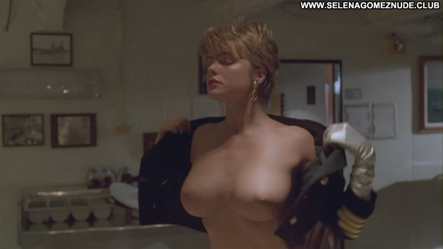 Erika Eleniak Under Siege Celebrity Babe Beautiful Black Cake Breasts