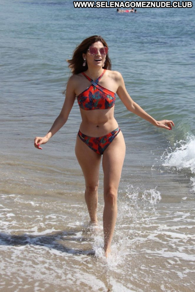 Blanca Blanco The Beach In Malibu Beautiful Bikini Malibu Posing Hot
