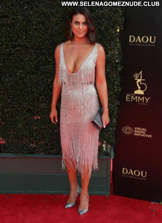 Nadia Bjorlin Emmy Awards Beautiful Awards Celebrity Posing Hot Babe