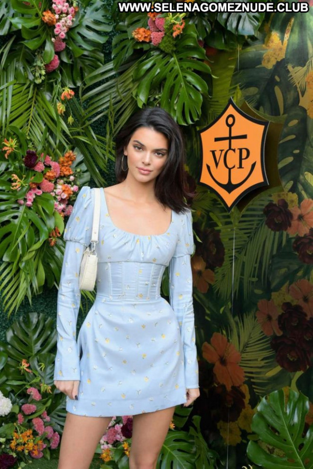 Kendall Jenner Los Angeles Celebrity Posing Hot Babe Los Angeles