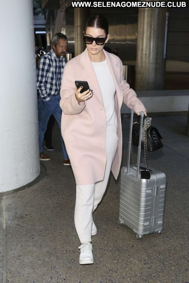 Camila Morrone Lax Airport Lax Airport Paparazzi Celebrity Angel