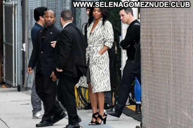 Gabrielle Union Jimmy Kimmel Live Paparazzi Babe Celebrity Posing Hot