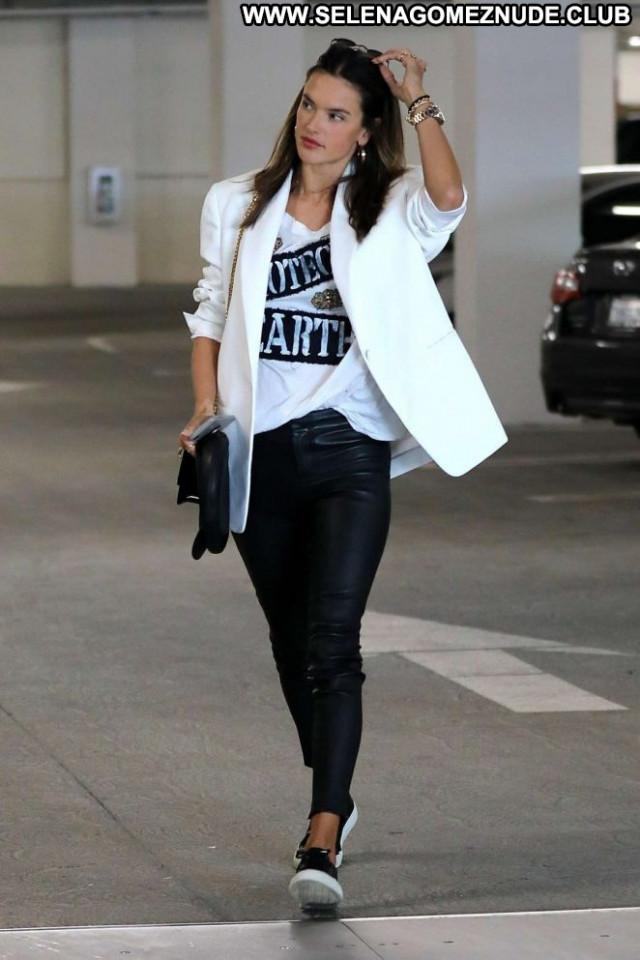 Alessandra Ambrosio Los Angeles  Posing Hot Angel Los Angeles