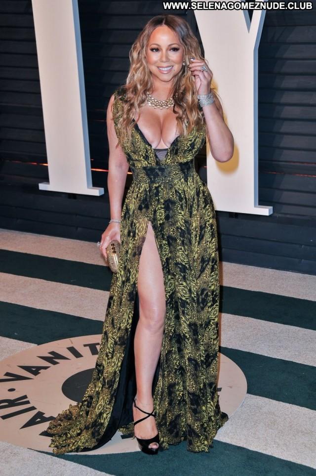 Mariah Carey Beverly Hills Car Cleavage Sex Celebrity Singer Posing
