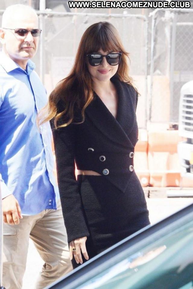 Dakota Johnso New York Celebrity Posing Hot Babe Paparazzi Beautiful