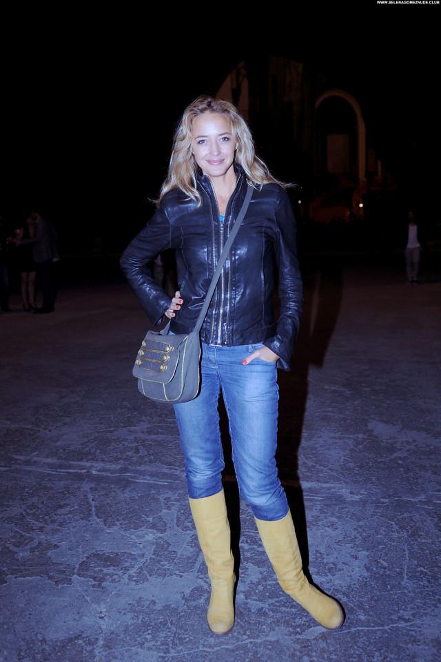 Helene De Fougerolles No Source Beautiful Party Posing Hot Celebrity