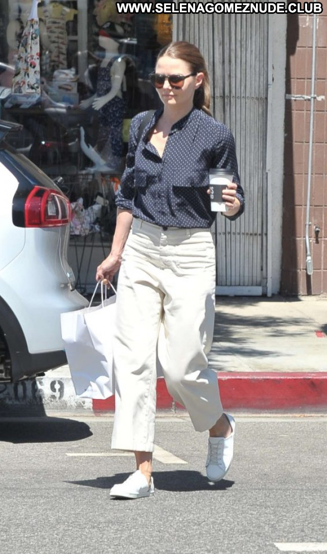 Jennifer Morrison Studio City Paparazzi Beautiful Celebrity Babe
