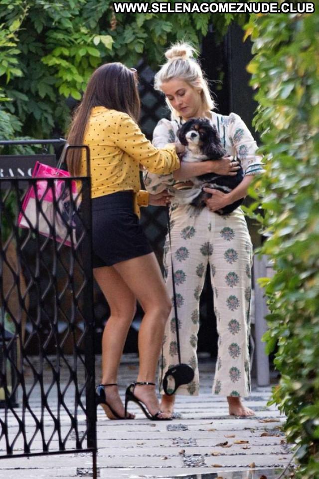 Julianne Hough Los Angeles Beautiful Posing Hot Celebrity Paparazzi