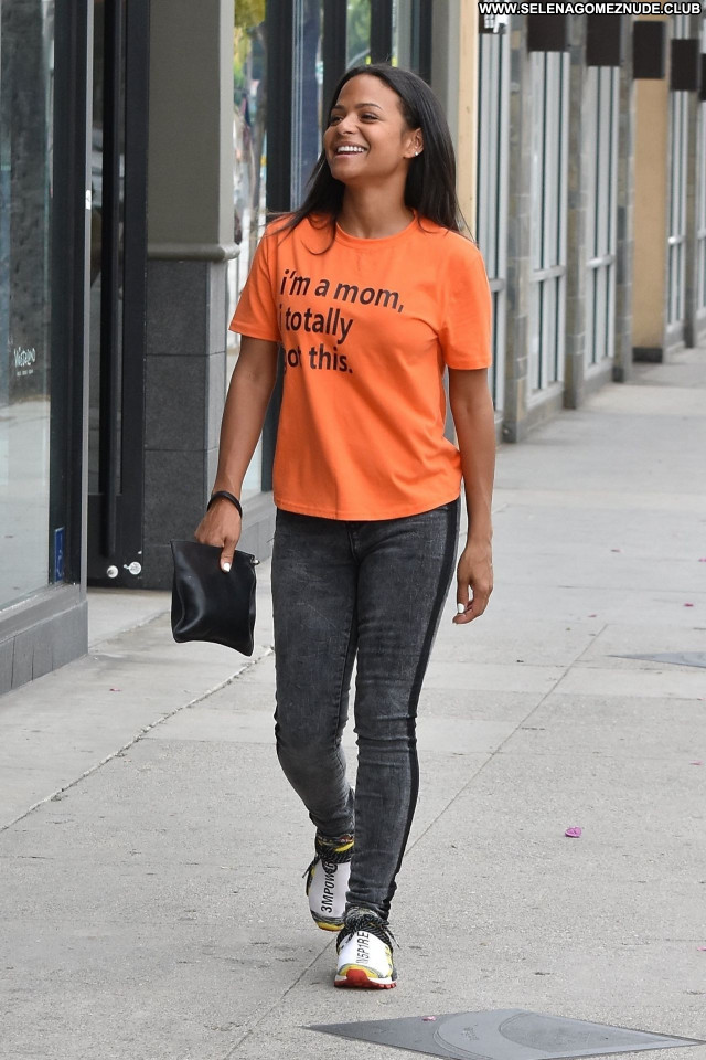 Christina Milian No Source Posing Hot Celebrity Babe Sexy Beautiful