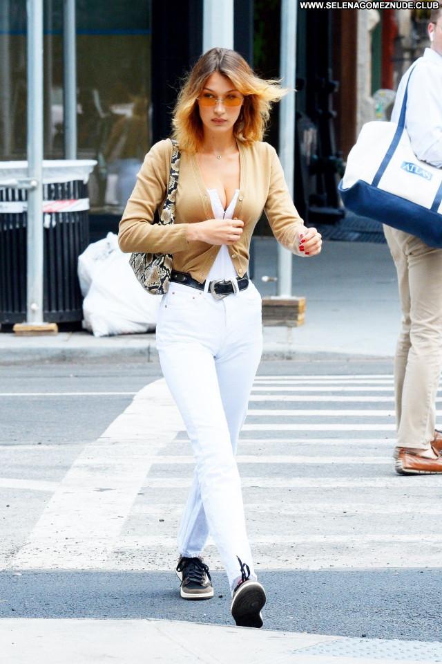 Ella Hadid No Source Posing Hot Celebrity Sexy Babe Beautiful
