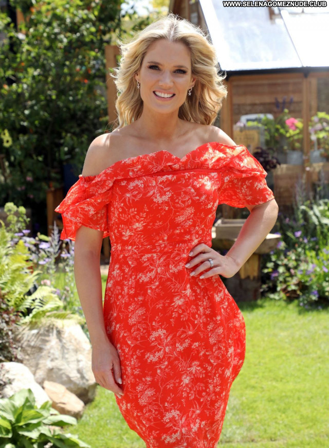 Charlotte Hawkins No Source  Sexy Beautiful Babe Posing Hot Celebrity