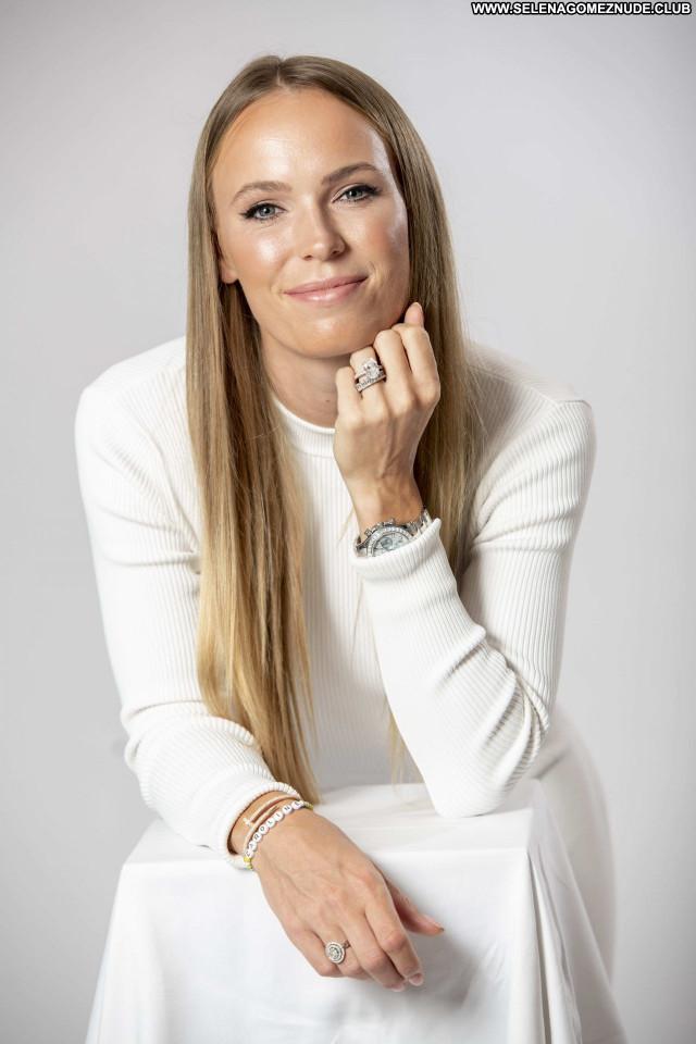 Caroline Wozniacki No Source  Celebrity Babe Posing Hot Sexy Beautiful