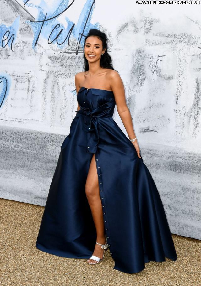 Maya Jama No Source Posing Hot Sexy Celebrity Beautiful Babe