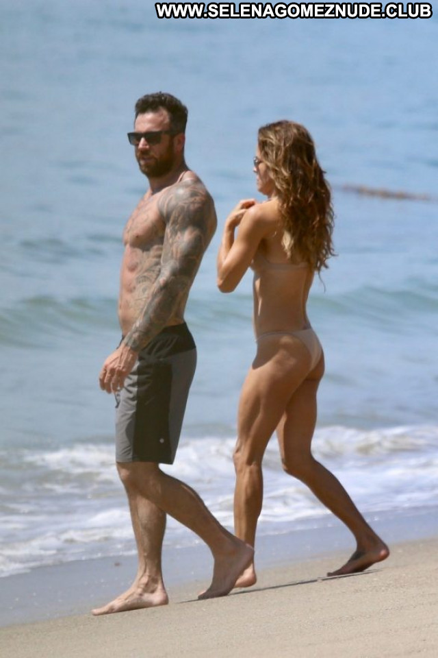 Brooke Burke The Beach In Malibu  Celebrity Beautiful Babe Paparazzi