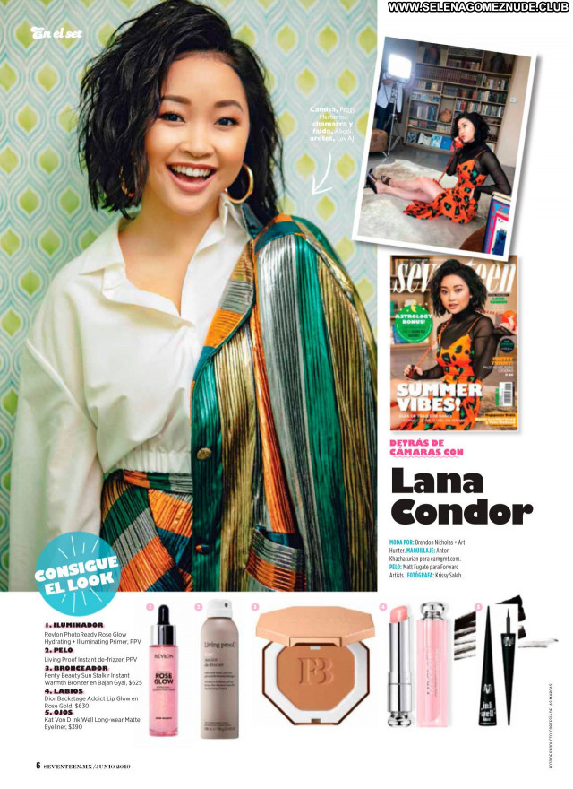 Lana Condor No Source Babe Sexy Posing Hot Beautiful Celebrity