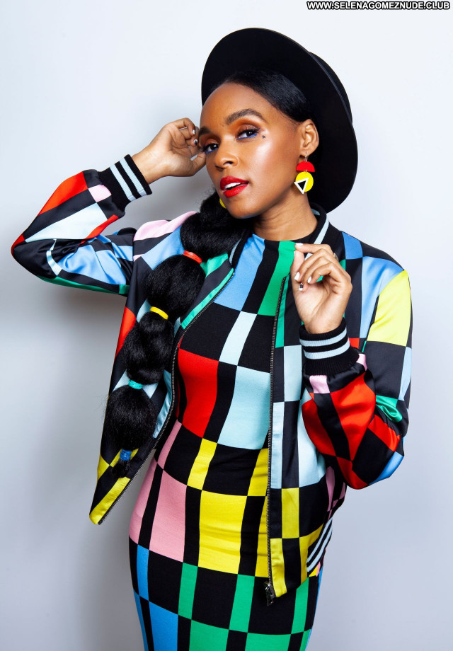 Janelle Monae No Source Celebrity Sexy Babe Posing Hot Beautiful