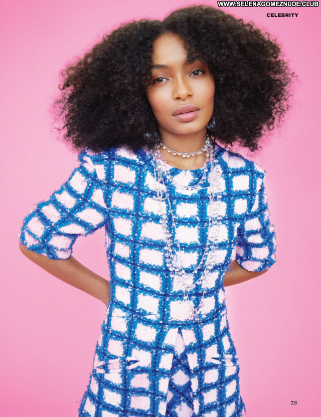 Yara Shahidi No Source  Beautiful Sexy Babe Celebrity Posing Hot