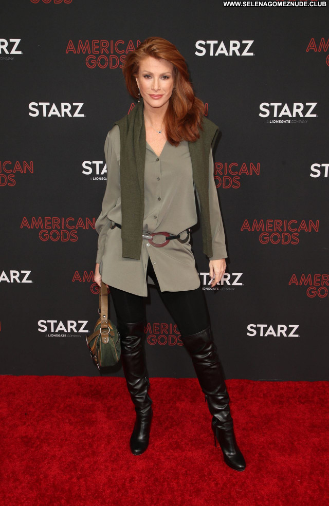 Angie Everhart No Source Babe Beautiful Sexy Posing Hot Celebrity