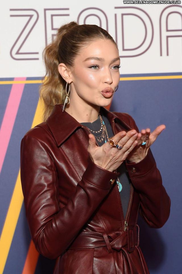 Gigi Hadid No Source Babe Celebrity Posing Hot Sexy Beautiful