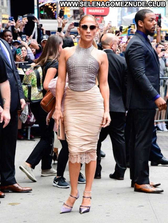 Jennifer Lopez Good Morning America Celebrity Beautiful Paparazzi