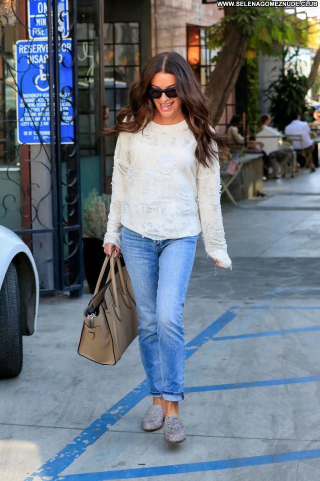 Lea Michele No Source Celebrity Sexy Babe Beautiful Posing Hot