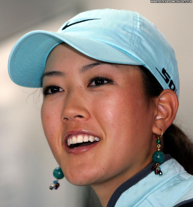 Michelle Wie No Source Beautiful Babe Asian Posing Hot Celebrity