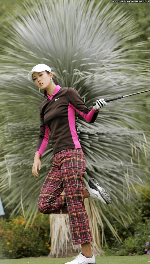 Michelle Wie No Source Babe Celebrity Posing Hot Beautiful Asian