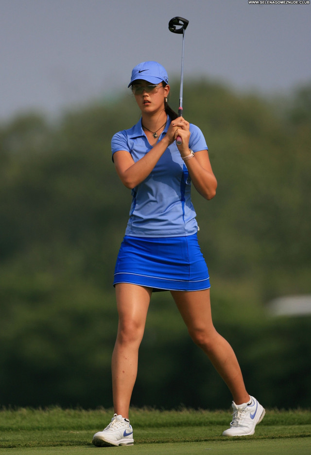 Michelle Wie No Source  Beautiful Celebrity Babe Posing Hot Asian