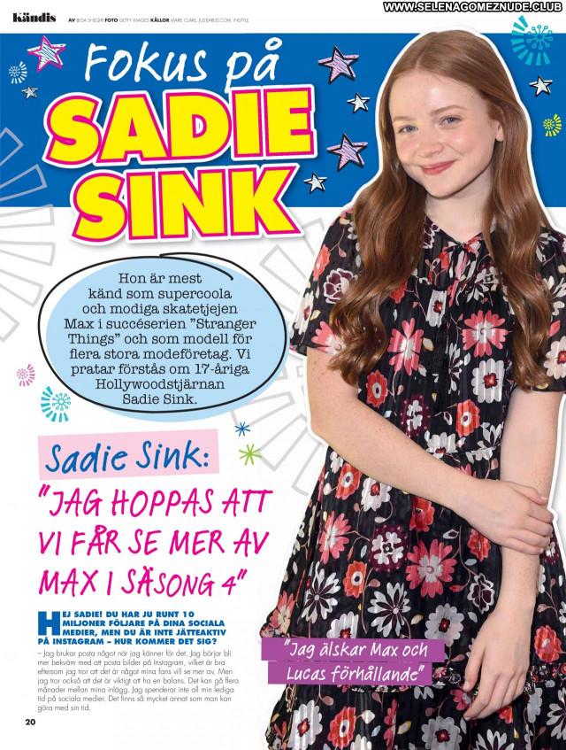 Sadie Sink No Source  Babe Posing Hot Sexy Celebrity Beautiful