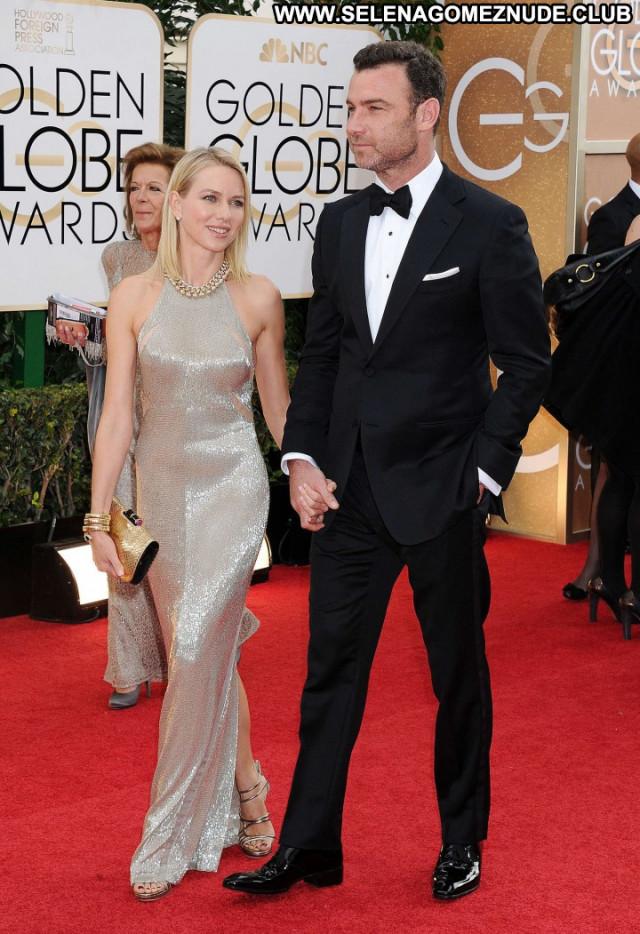 Naomi Watts Golden Globe Awards Beautiful Awards Paparazzi Babe