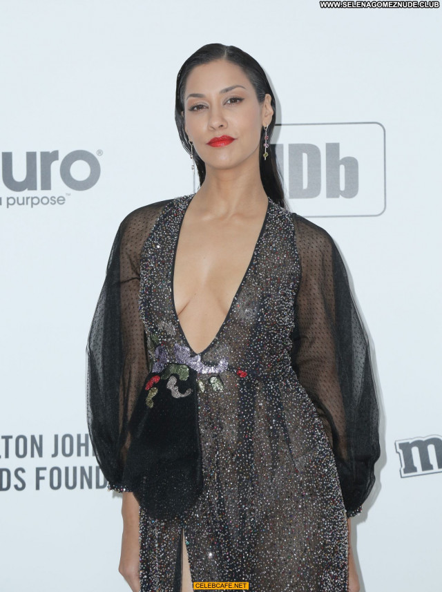 Janina Gavankar No Source Celebrity Beautiful See Through Party Bra