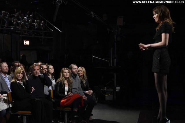 Dakota Johnson Saturday Night Live  Posing Hot Live Celebrity