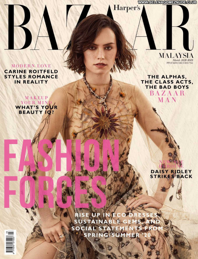 Daisy Ridley Harpers Bazaar Beautiful Paparazzi Posing Hot Babe