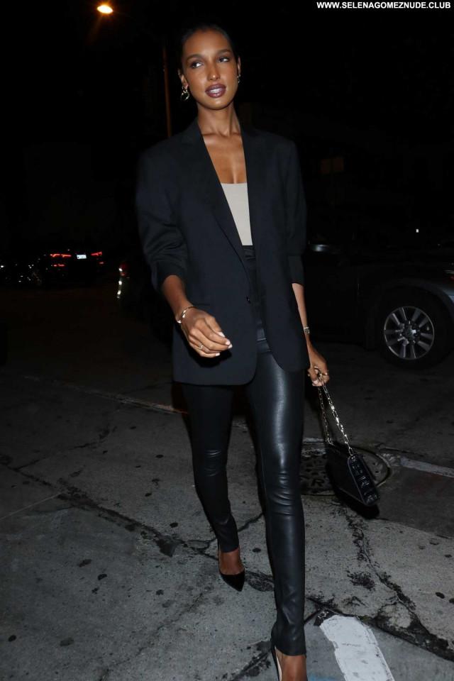 Jasmine Tookes West Hollywood Paparazzi Celebrity Beautiful Posing