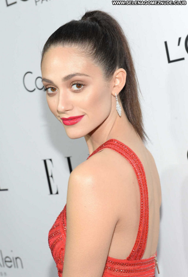Emmy Rossum Beverly Hills  Asian Celebrity Hollywood Babe Posing Hot