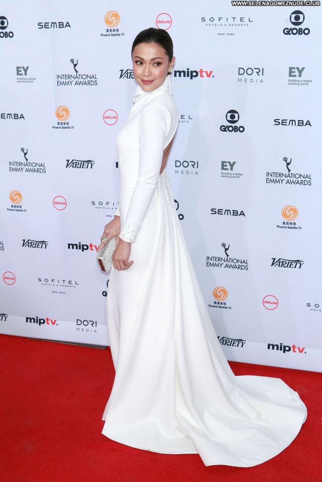 Maria Emmy Awards  Beautiful Babe New York Awards Posing Hot