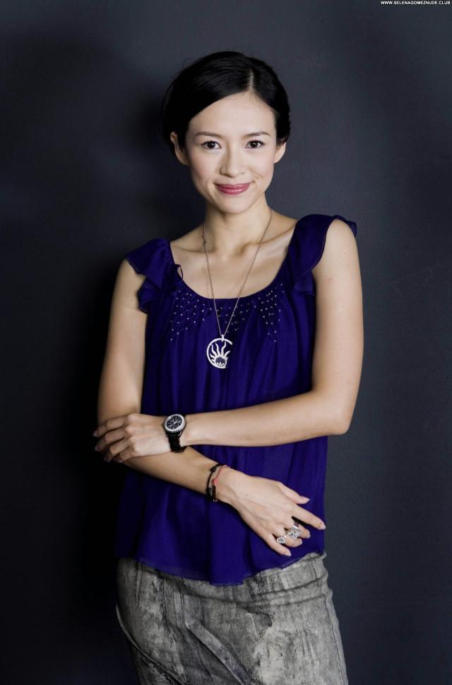 Zhang Ziyi No Source Posing Hot Celebrity Beautiful Babe Asian