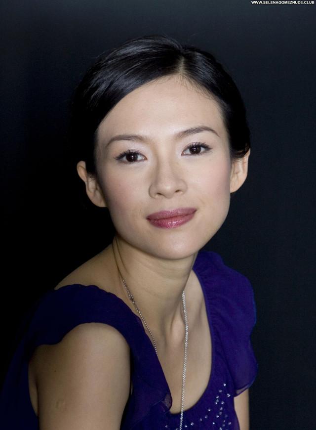 Zhang Ziyi No Source Asian Celebrity Posing Hot Babe Beautiful