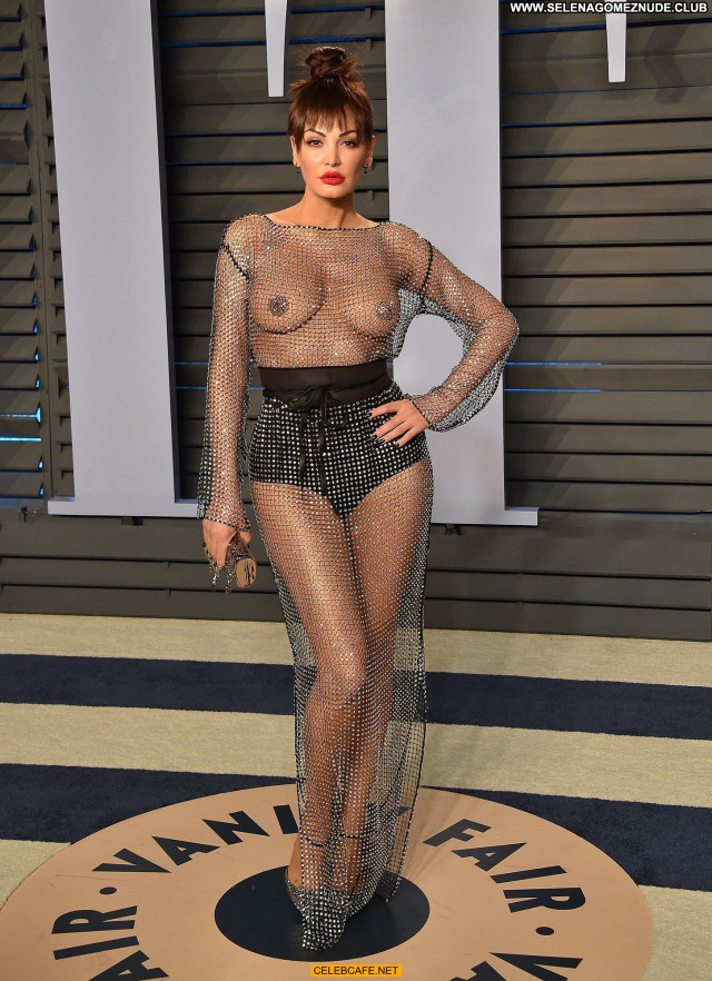 Bleona Qereti Vanity Fair Babe Beautiful Braless Celebrity See