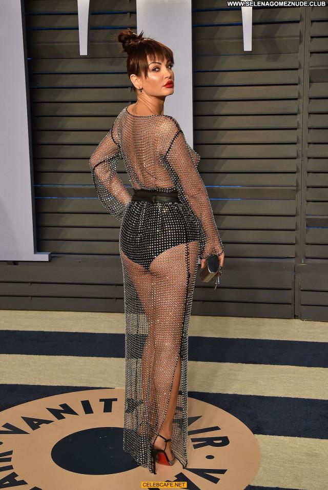 Bleona Qereti Vanity Fair Braless Posing Hot See Through Babe Party
