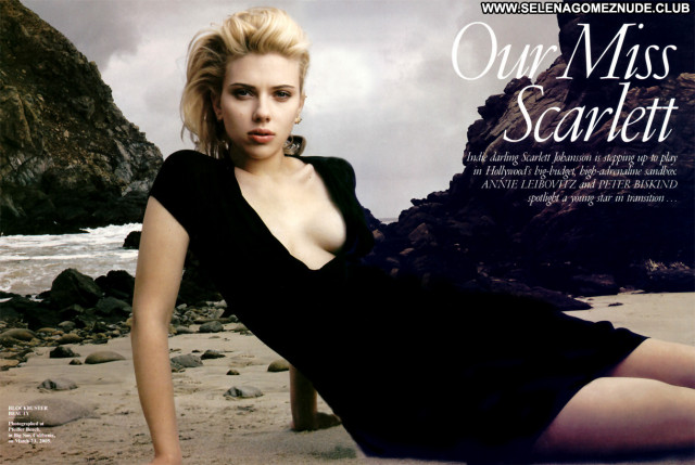 Scarlett Johansson No Source  Celebrity Posing Hot Babe Asian