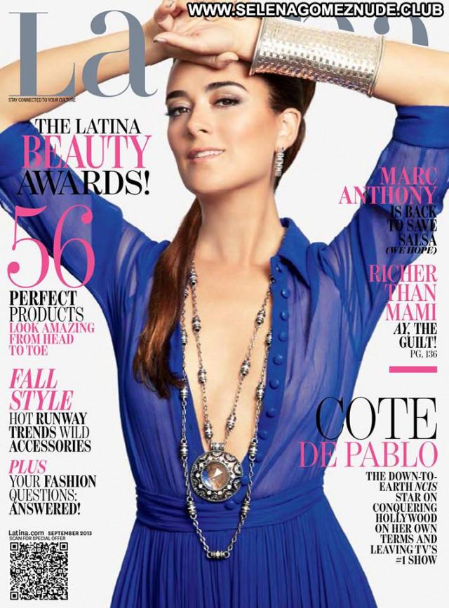 Cote De Pablo No Source Latina Latin Celebrity Paparazzi Posing Hot