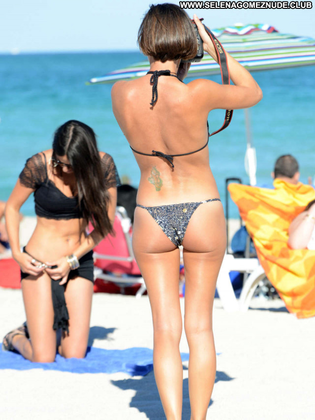 Photos Miami Beach Posing Hot Photoshoot Celebrity Babe Paparazzi