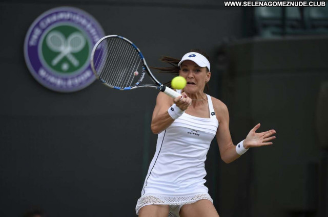 Agnieszka Radwanska No Source Tennis Paparazzi Beautiful Posing Hot