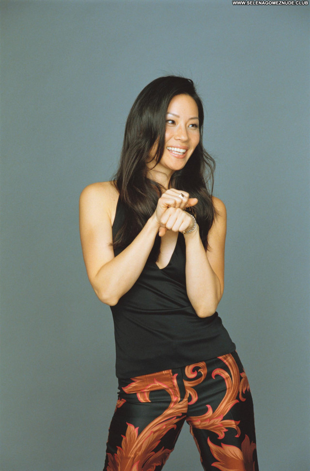 Lucy Liu No Source Posing Hot Beautiful Babe Celebrity Asian